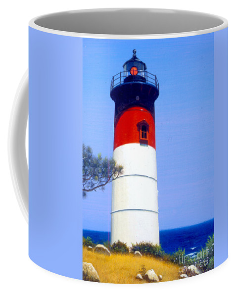 Architecture Coffee Mug featuring the photograph Nauset Beach by MGL Studio - Chris Hiett