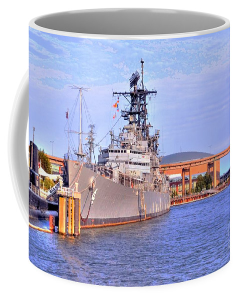 Naval Coffee Mug featuring the photograph Naval Park by Kathleen Struckle