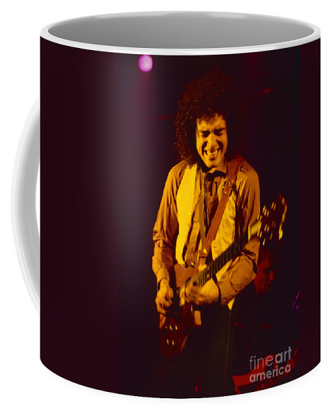 Concert Photos For Sale Coffee Mug featuring the photograph Neal Schon Special Guest With Ronnie Montrose Of Gamma by Daniel Larsen