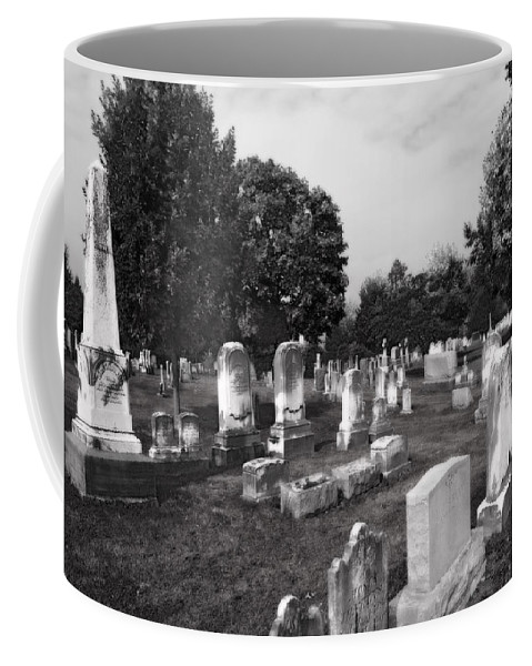 Cemetery Coffee Mug featuring the photograph Necropolis by Mick Burkey