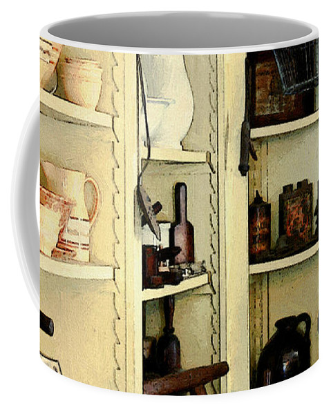 Antiques Coffee Mug featuring the painting Needful Things by RC deWinter