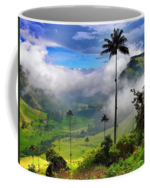 Nephilim Coffee Mug featuring the photograph Nephilim by Skip Hunt