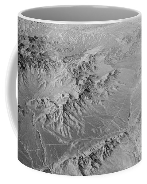 Black And White Coffee Mug featuring the photograph Nevada Skyview by Alanna DPhoto