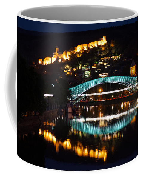 Georgia Coffee Mug featuring the photograph New And Old by Ivan Slosar