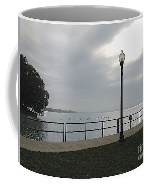 Anchor Bay Coffee Mug featuring the photograph New Baltimore by Joseph Yarbrough