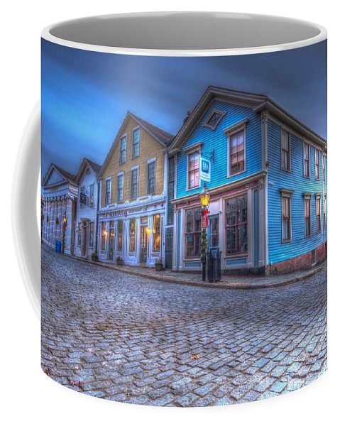 New Bedford Coffee Mug featuring the photograph New Bedford - Historic District by James Merecki