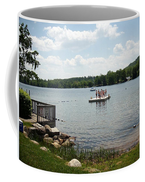 New England Coffee Mug featuring the photograph New England Lake Vacation by Joseph Coulombe