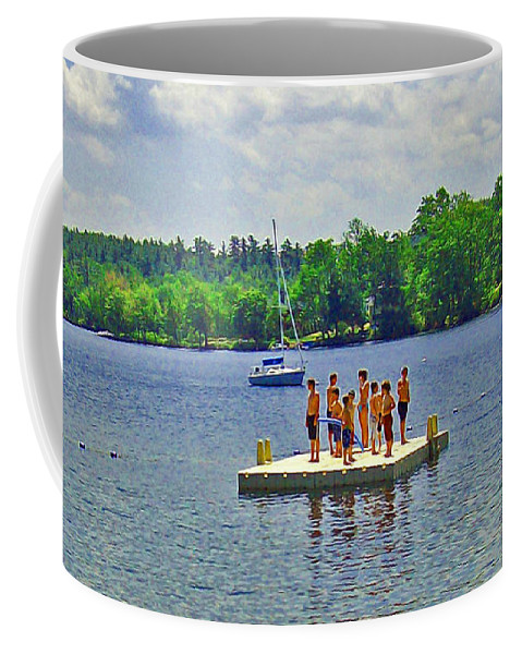 New England Summer Coffee Mug featuring the photograph New England Watersports by Joseph Coulombe