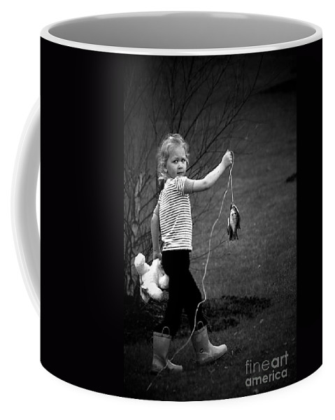 Boots Coffee Mug featuring the photograph New Friends? by Frank J Casella