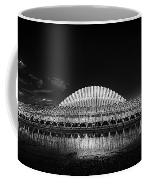 Florida Polytechnic University Coffee Mug featuring the photograph New Horizons by Marvin Spates