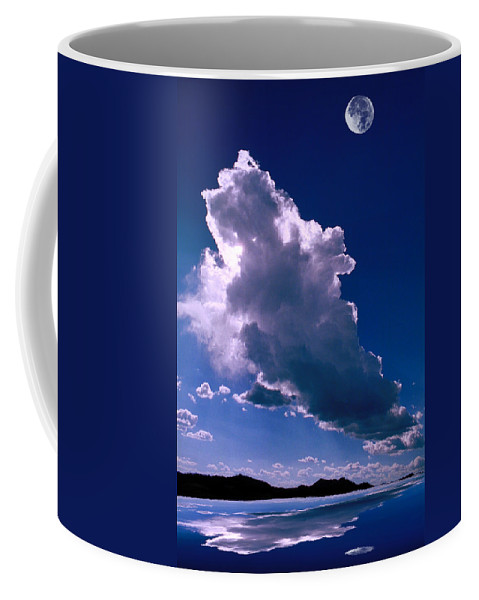 New Coffee Mug featuring the photograph New Mexico Sky by Jerry McElroy