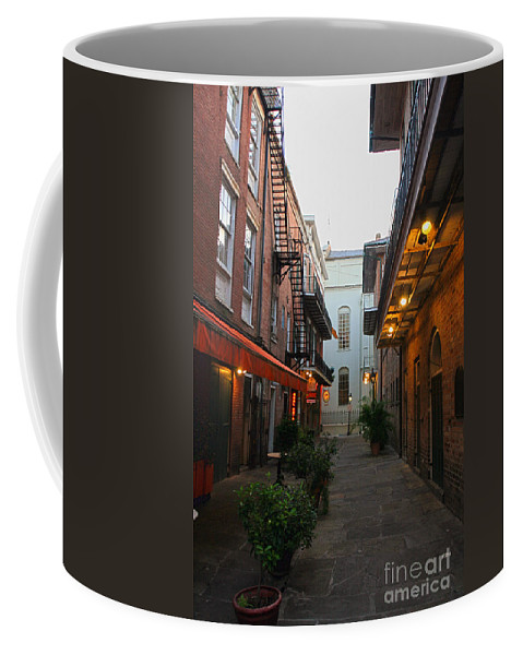 New Orleans Photographs Coffee Mug featuring the photograph New Orleans Ally by Ryan Burton