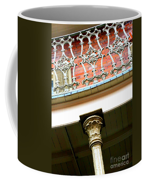 New Orleans Coffee Mug featuring the photograph New Orleans Column by Carol Groenen
