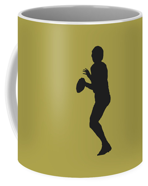 Saints Coffee Mug featuring the photograph New Orleans Saints Drew Brees by Joe Hamilton
