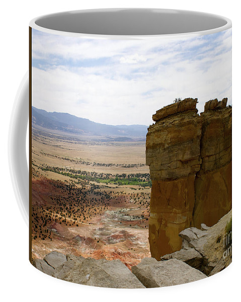 Breaking Bad Coffee Mug featuring the photograph New Photographic Art Print For Sale Ghost Ranch New Mexico 10 by Toula Mavridou-Messer