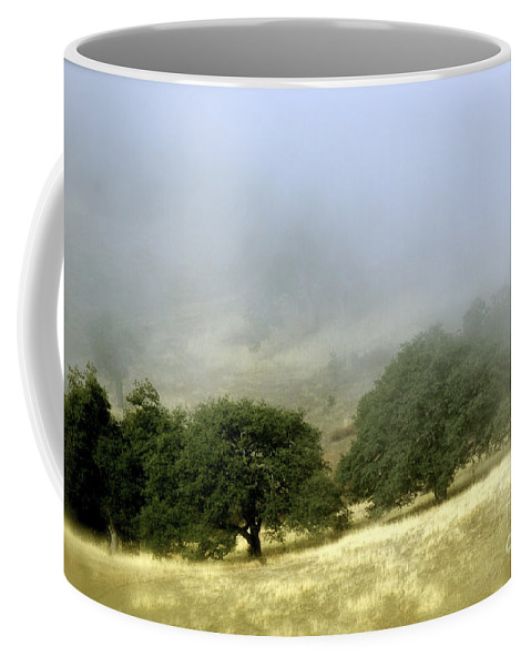 Nature Coffee Mug featuring the photograph Mist In The Californian Valley by Toula Mavridou-Messer