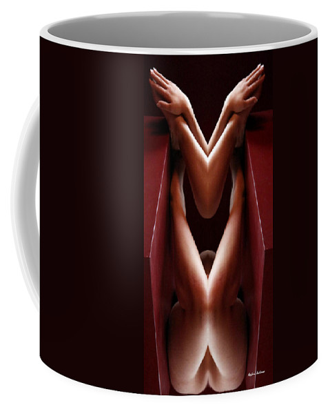 New Year Resolution Coffee Mug featuring the digital art New Years Resolution by Rafael Salazar
