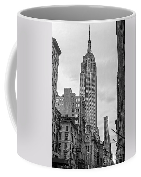 America Coffee Mug featuring the photograph New York City - Usa by Luciano Mortula