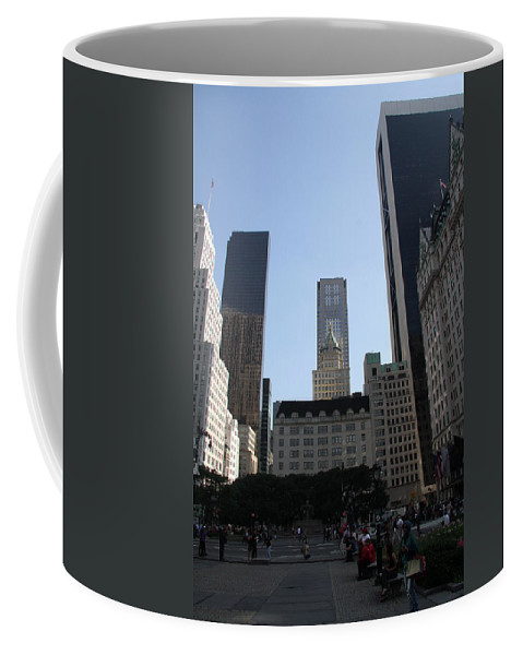 Place Coffee Mug featuring the photograph New York City by Christiane Schulze Art And Photography