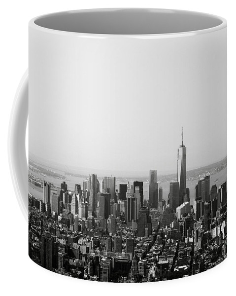 New York Coffee Mug featuring the photograph New York City by Linda Woods