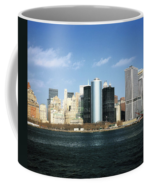 America Coffee Mug featuring the photograph New York Skyline by Christopher Rees