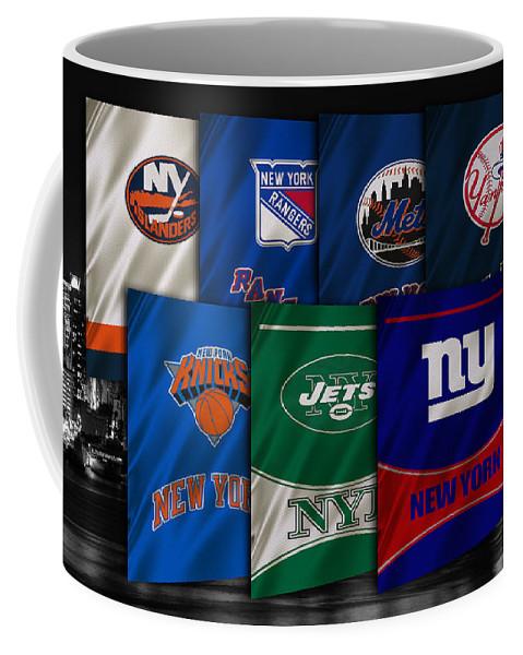Islanders Coffee Mug featuring the photograph New York Sports Teams by Joe Hamilton