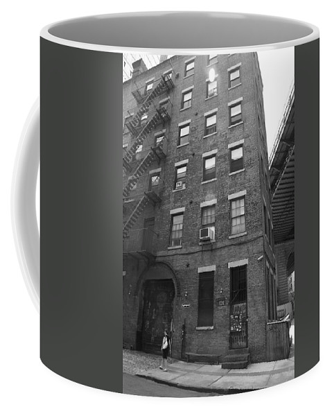Apartments Coffee Mug featuring the photograph New York Street Photography 9 by Frank Romeo