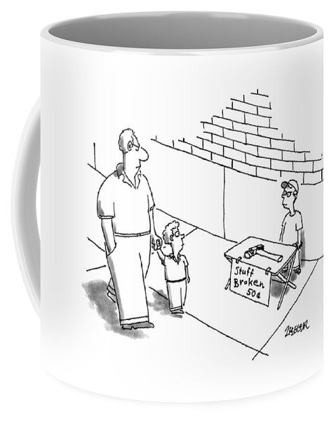 New Yorker August 21st 1995 Coffee Mug For Sale By Jack Ziegler