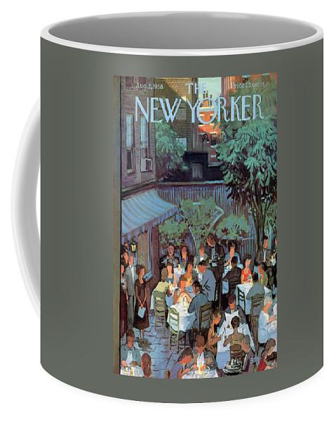 New Yorker August 2nd, 1958 Coffee Mug