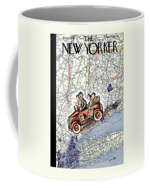 New Yorker August 7, 1937 Coffee Mug