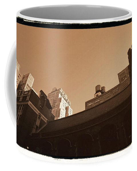 New York Coffee Mug featuring the photograph New Yorker by Donna Blackhall