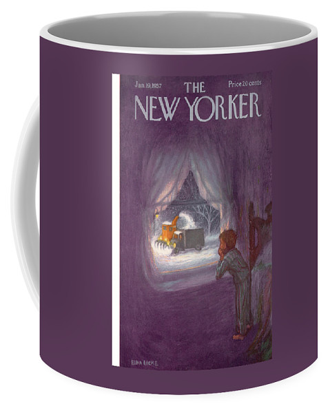 New Yorker January 19th, 1957 Coffee Mug