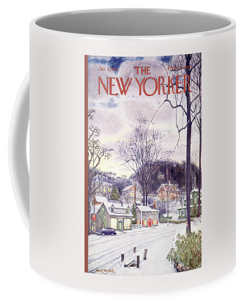 New Yorker January 9th, 1965 Coffee Mug