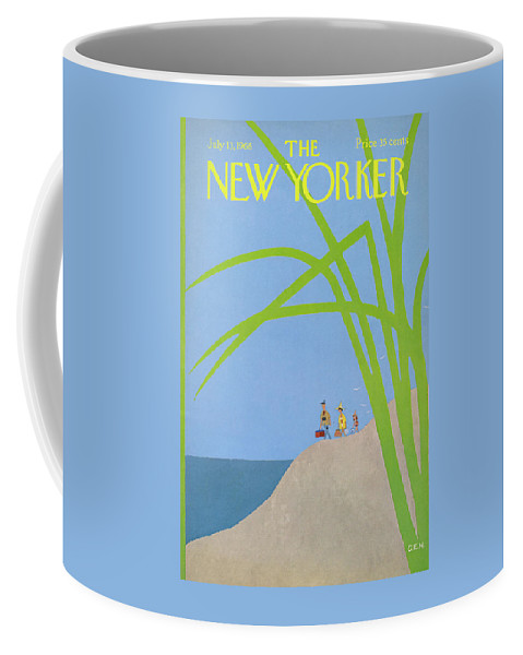 Charles E. Martin Cma Coffee Mug featuring the painting New Yorker July 13th, 1968 by Charles E Martin