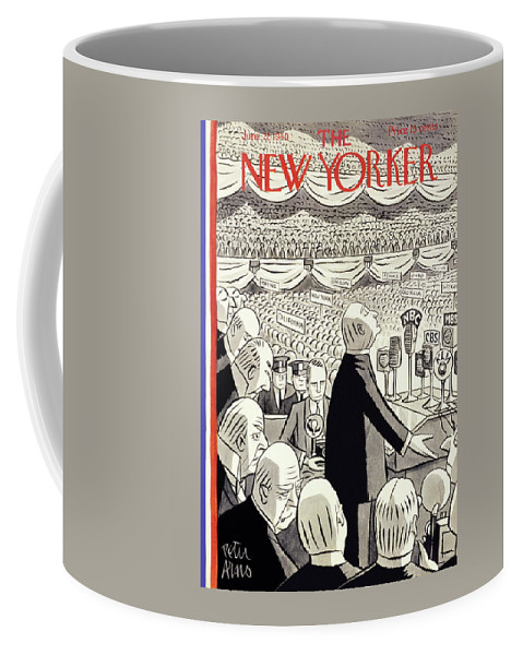 Religion Coffee Mug featuring the painting New Yorker June 22 1940 by Peter Arno
