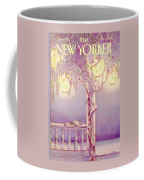 Nature Coffee Mug featuring the painting New Yorker June 29th, 1981 by Jenni Oliver