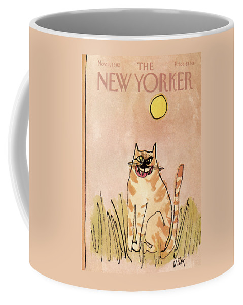 New Yorker November 1st, 1982 Coffee Mug