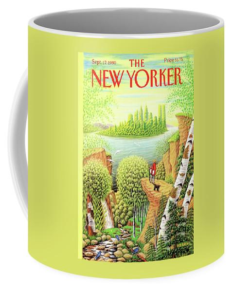 New Yorker September 17, 1990 Coffee Mug