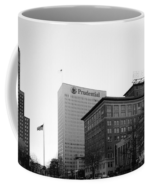 Paul Ward Coffee Mug featuring the photograph Newark New Jersey In Black And White by Paul Ward