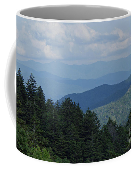 Newfound Gap Coffee Mug featuring the photograph Newfound Gap by Roger Potts