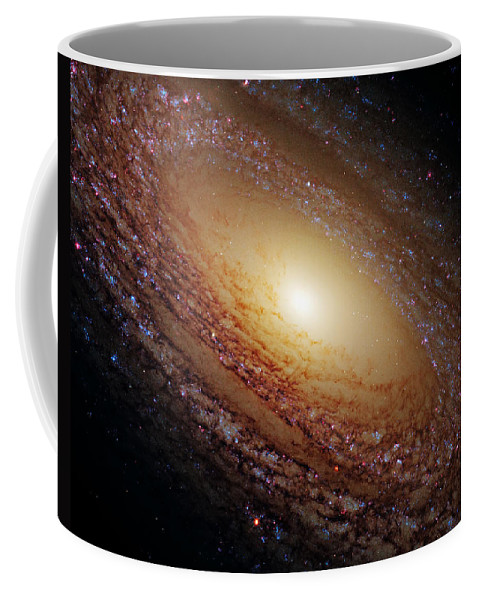 Outer Coffee Mug featuring the photograph Ngc 2841 by Ricky Barnard