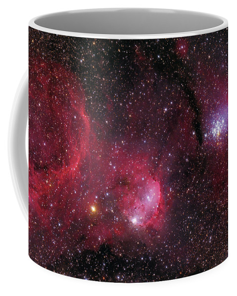 Horizontal Coffee Mug featuring the photograph Ngc 3293, The Gem Cluster And Gabriela by Lorand Fenyes