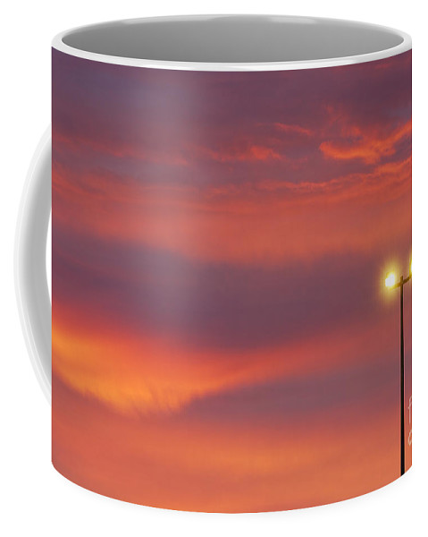 Air Coffee Mug featuring the photograph Night Light by John Greim