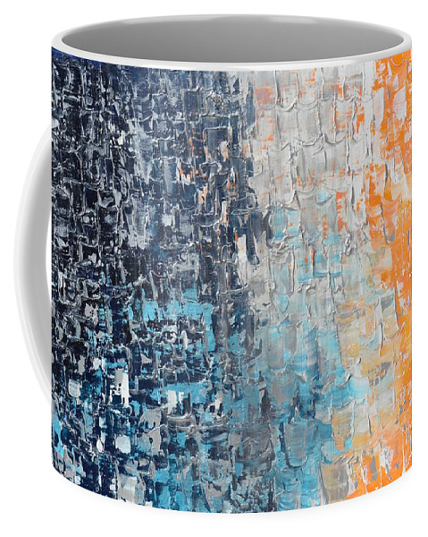 Night To New Day Coffee Mug featuring the painting Night To New Day by Linda Bailey