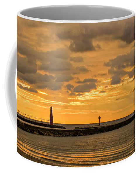Lighthouse Coffee Mug featuring the photograph Nirvana by Bill Pevlor