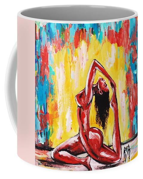 Artbyria Coffee Mug featuring the photograph No Flex Zone by Artist RiA