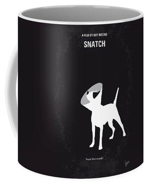 Snatch Coffee Mug featuring the digital art No079 My Snatch Minimal Movie Poster by Chungkong Art