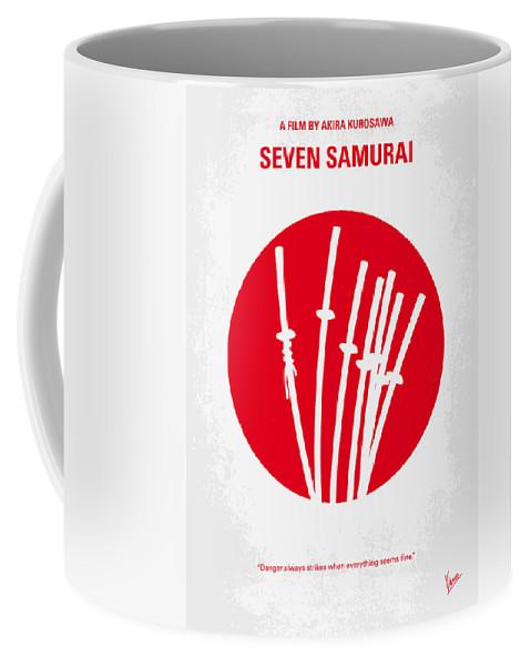 No200 My The Seven Samurai Minimal Movie Poster Coffee Mug