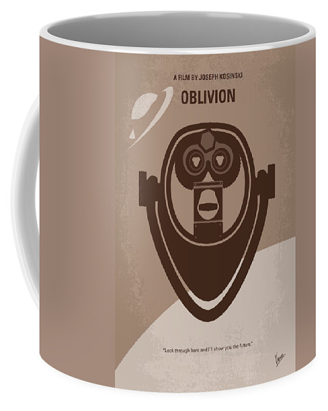 Oblivion Coffee Mug featuring the digital art No217 My Oblivion Minimal Movie Poster by Chungkong Art