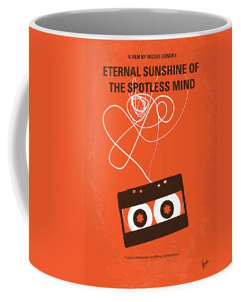 Eternal Coffee Mug featuring the digital art No384 My Eternal Sunshine of the Spotless Mind minimal movie pos by Chungkong Art